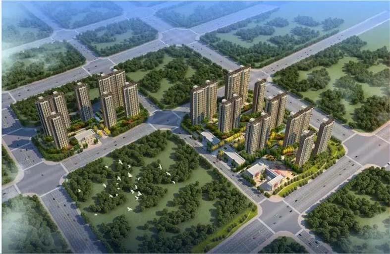 郑州国际物流园区锦祥花园二期棚户区改造项目WL-09-17-01地块(2018年)