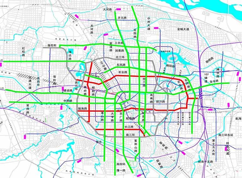 郑州市常规公交专用道建设项目