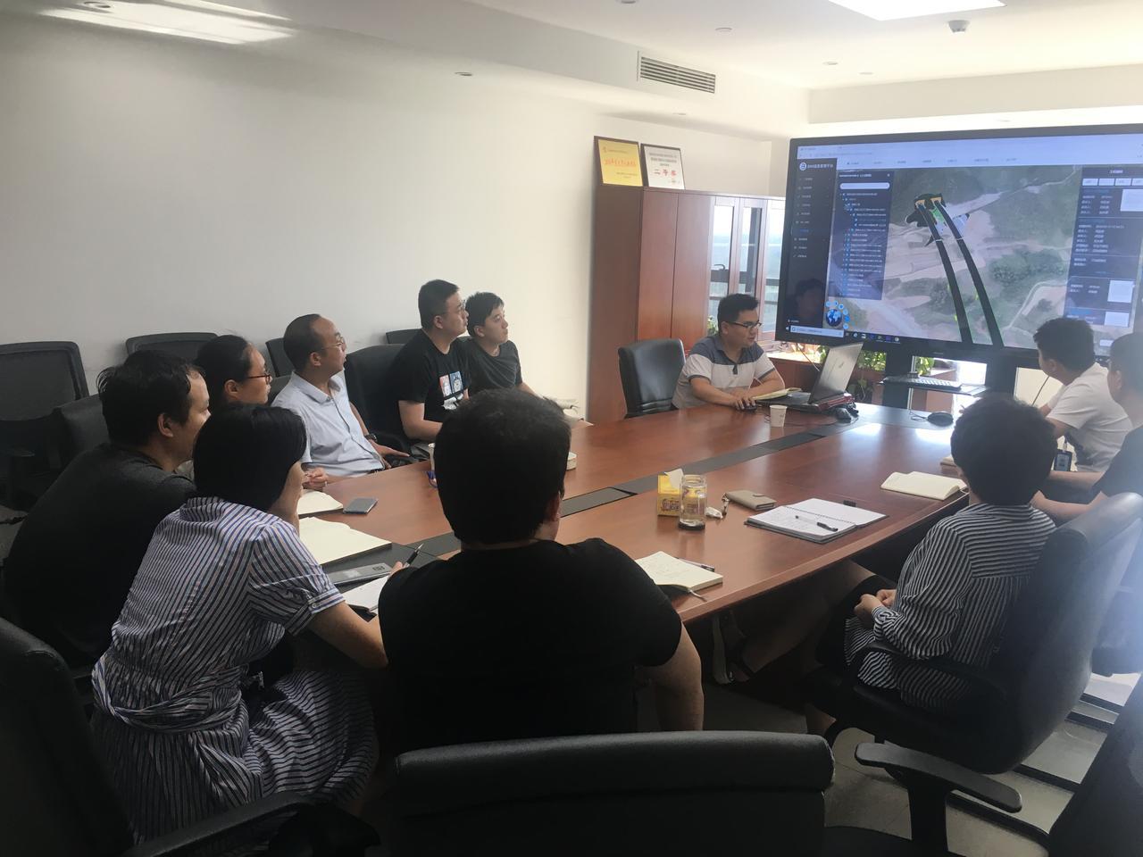 杜战军副总经理参加BIM中心上半年工作总结并对中心工作进行调研指导