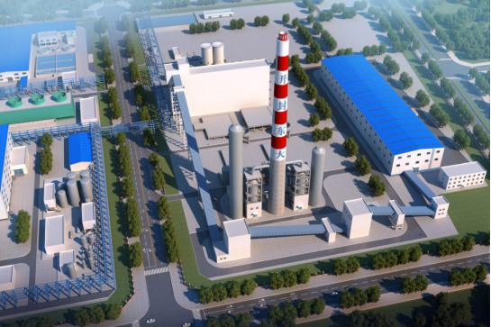 中国平煤神马集团 开封精细化工产业园背压机组供热工程