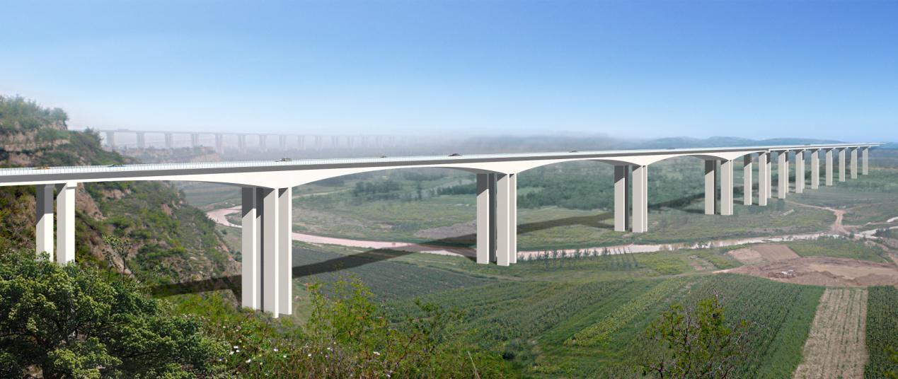 弘农涧特大桥