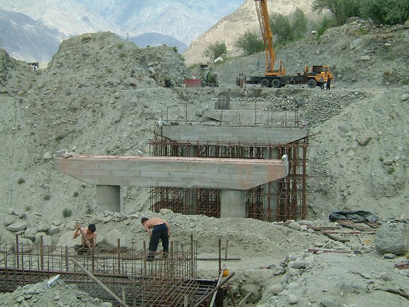 巴基斯坦—喀喇昆仑公路沿线桥梁修复